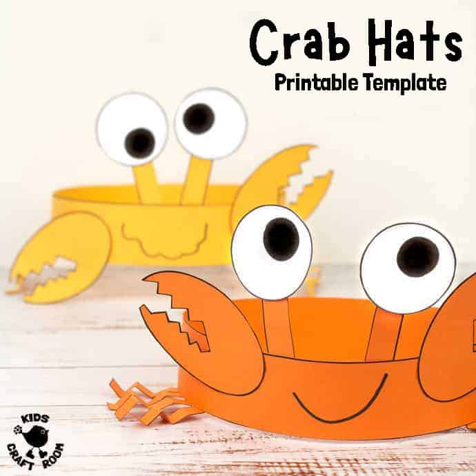 Fun Crab Hats pin 3