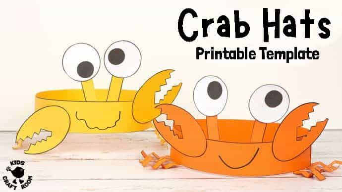 Fun Crab Hats pin 4