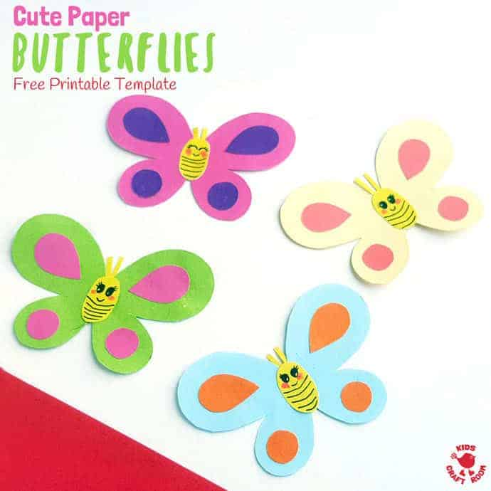 photo regarding Printable Butterfly Template identify Totally free Printable Butterfly Template - Youngsters Craft Place
