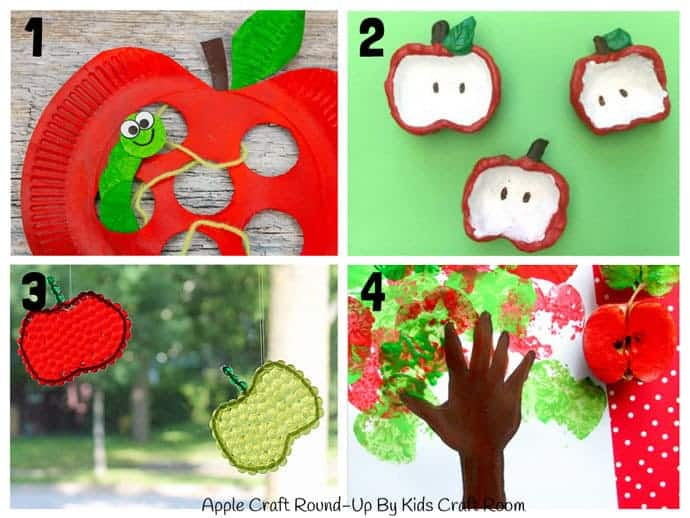 Best Apple Crafts For Kids To Make 1 -4