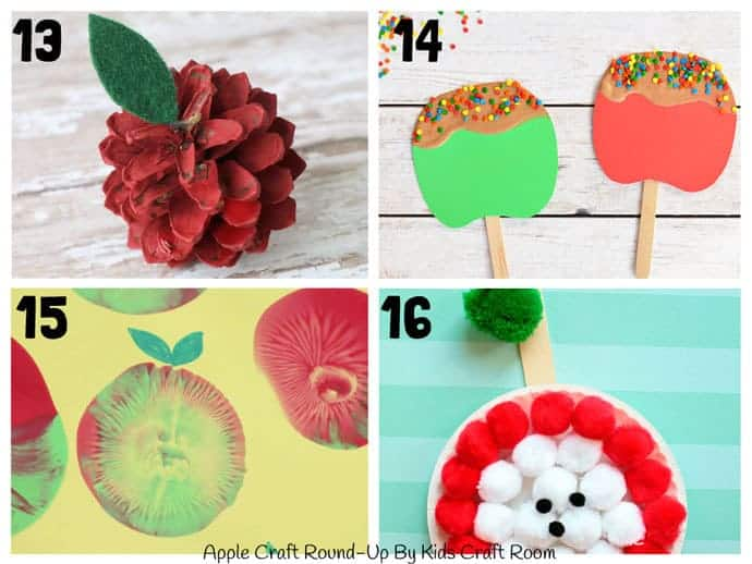 Best Apple Crafts For Kids To Make 13-16