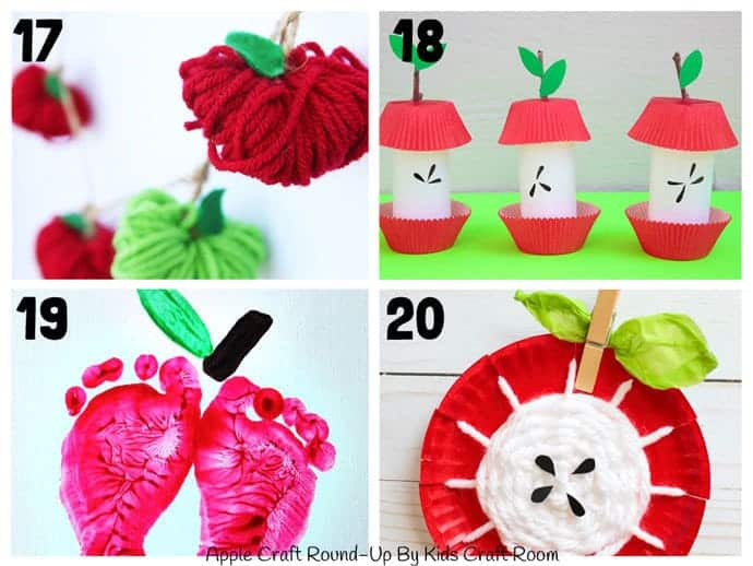 Best Apple Crafts For Kids To Make 17-20