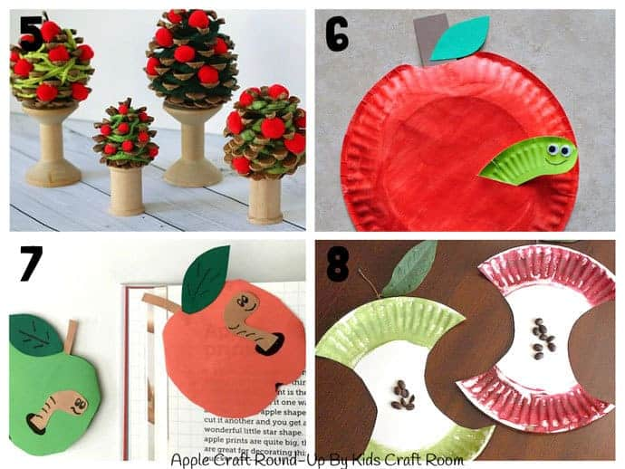Best Apple Crafts For Kids To Make 5-8