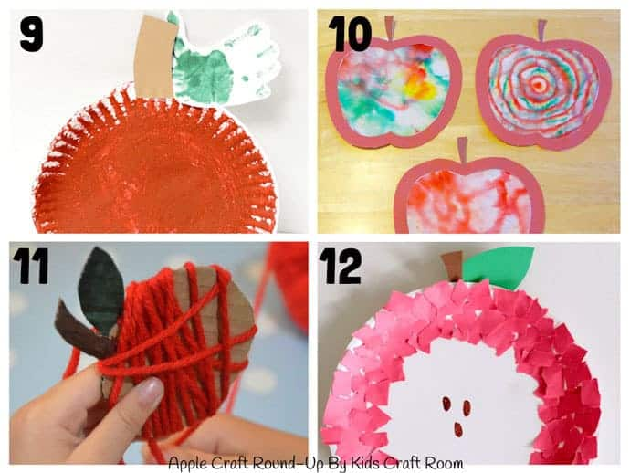 Best Apple Crafts For Kids To Make 9-12