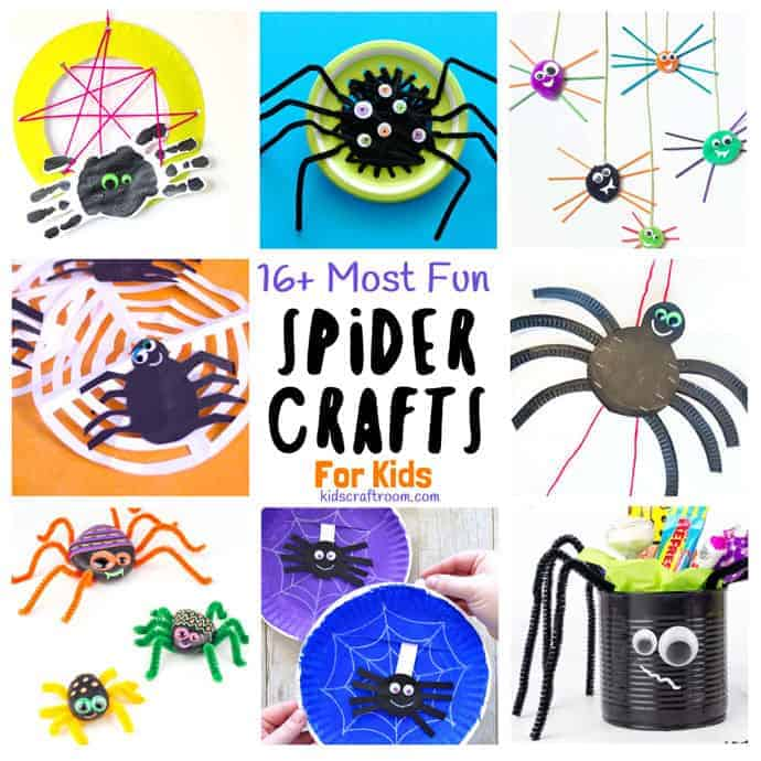 The Best Spider Crafts For Kids Kids Craft Room