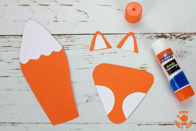 Step 2 Cute Paper Cup Fox Craft For Kids