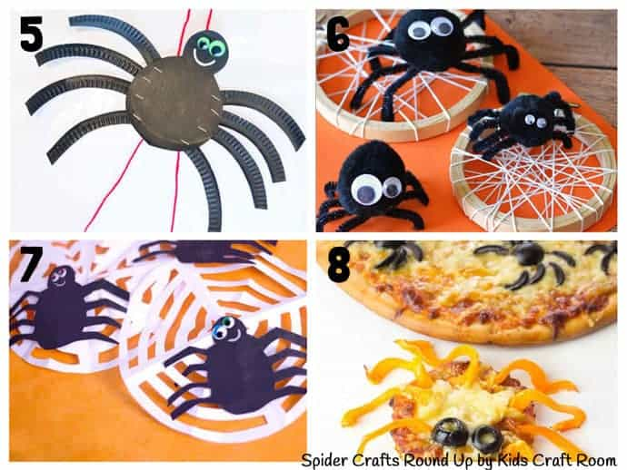 Collection Of The Best Spider Crafts For Kids 5-8