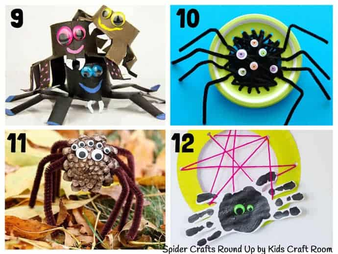 Collection Of The Best Spider Crafts For Kids 9-12