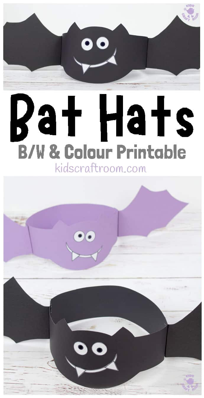 Bat Hat Craft pin 1