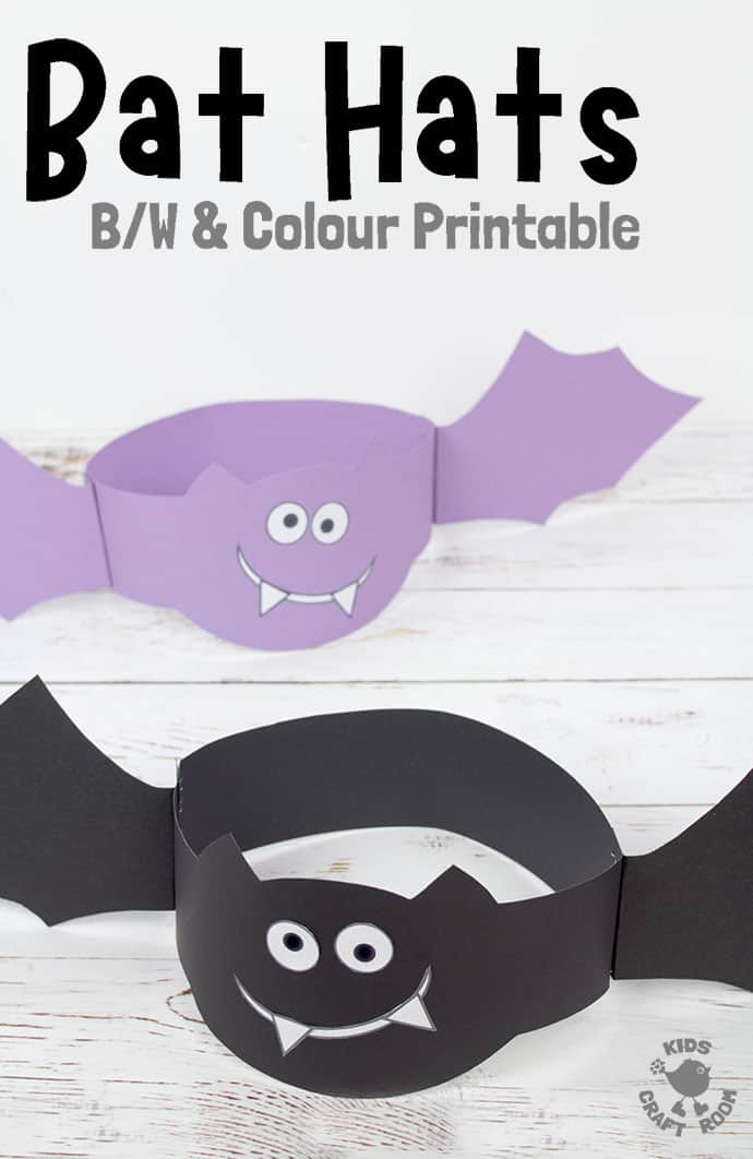 Bat Hat Craft pin 3