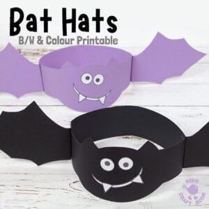Printable Bat Hat Craft
