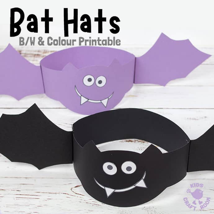 Bat Hat Craft pin 2
