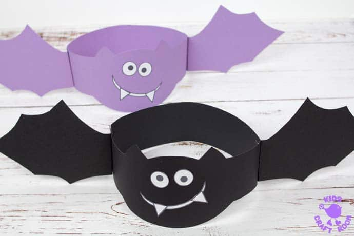 Bat Hat Craft step 6