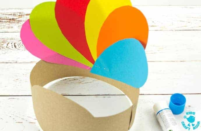 Printable Turkey Hat Craft For Thanksgiving step 5