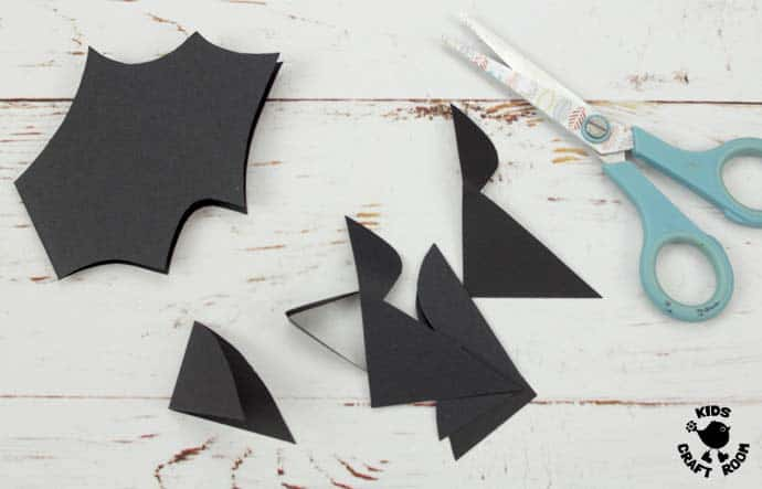 Step 3 Flying Paper Cup Bat Craft
