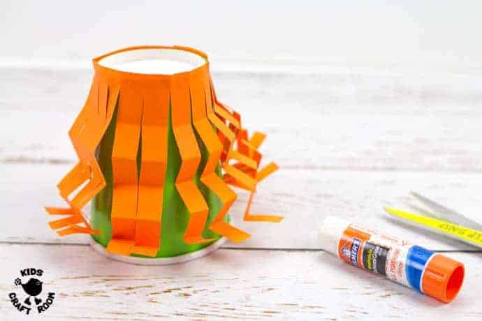 Step 3 Flying Paper Cup Witch Craft For Kids