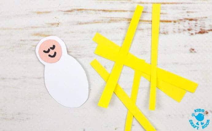 Christmas Card Nativity Craft step 7