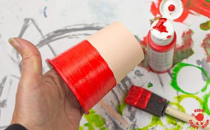 Jumping Paper Cup Elf Craft step 5