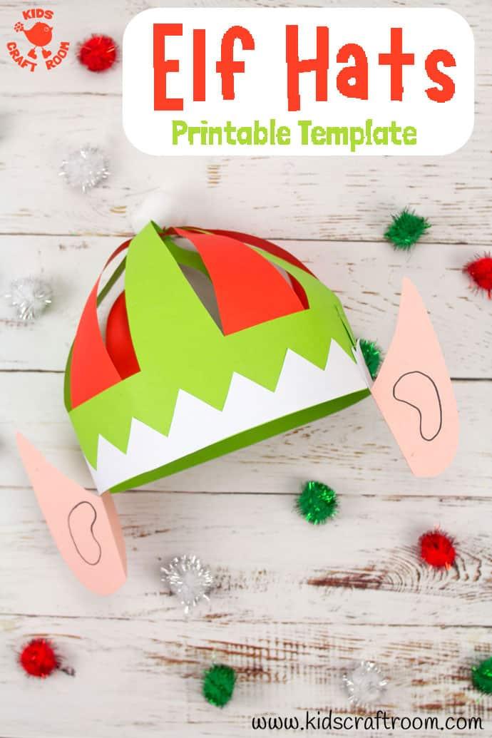 Christmas Elf Hat Craft pin 3