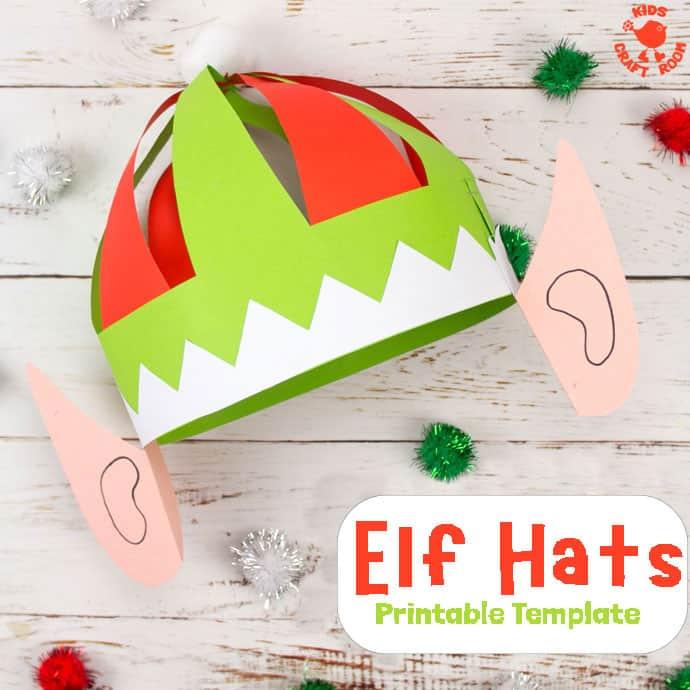 Christmas Elf Hat Craft pin 2