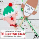 Puppet Elf Christmas Cards