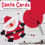 Santa Christmas Cards Craft