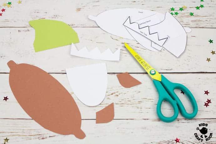 Printable Elf Christmas Cards step 2
