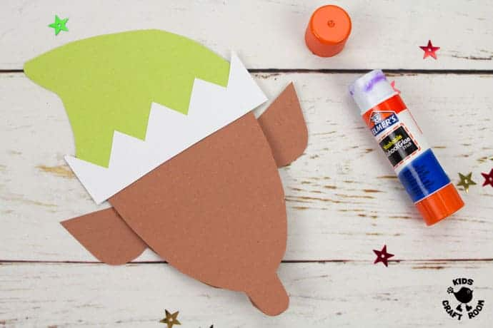 Printable Elf Christmas Cards step 4