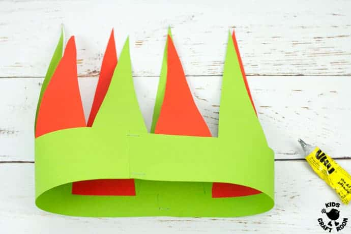 cute elf hat craft printable kids craft room