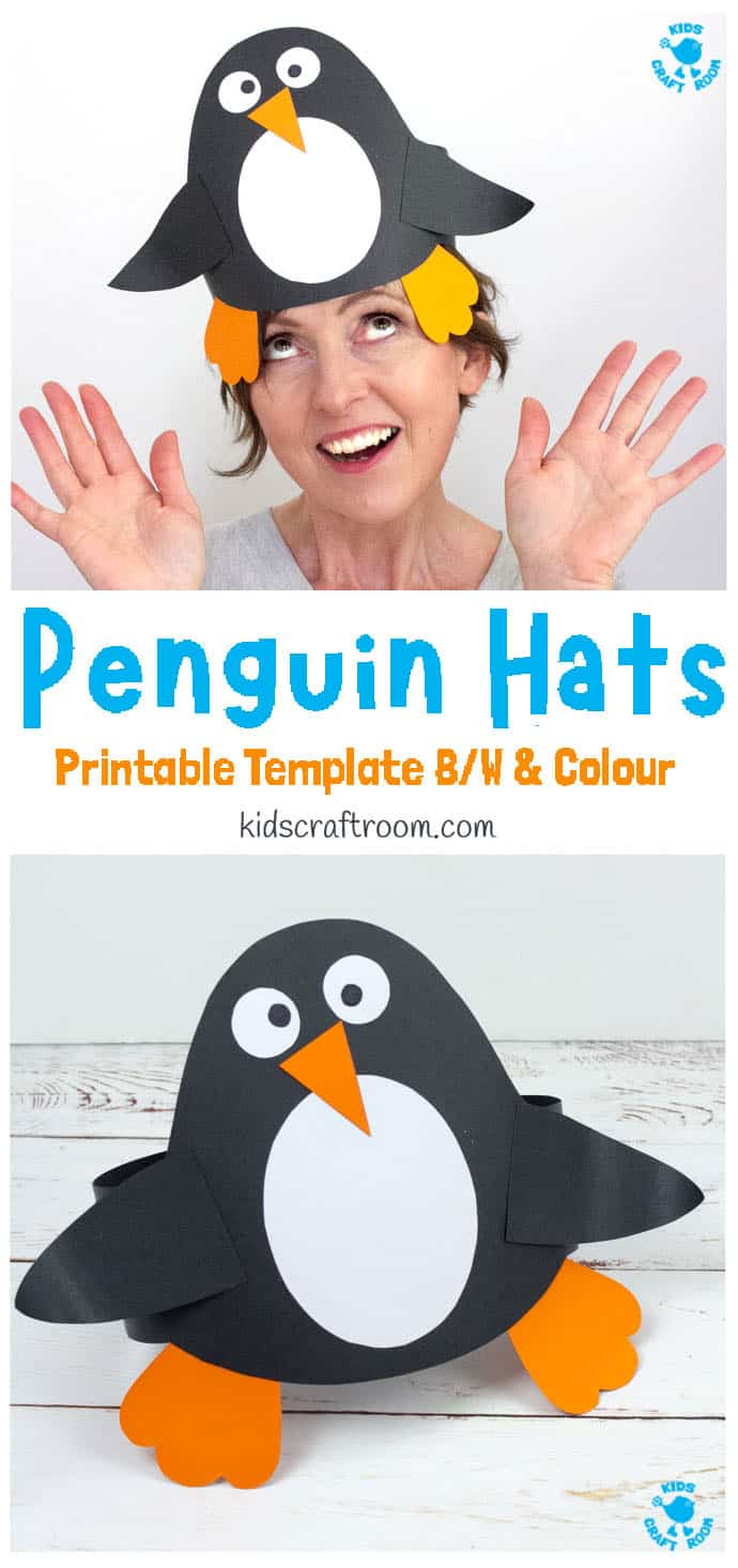 Fun Penguin Hat Craft pin image 1