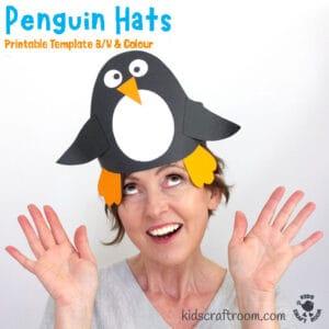 Fun Penguin Hat Craft