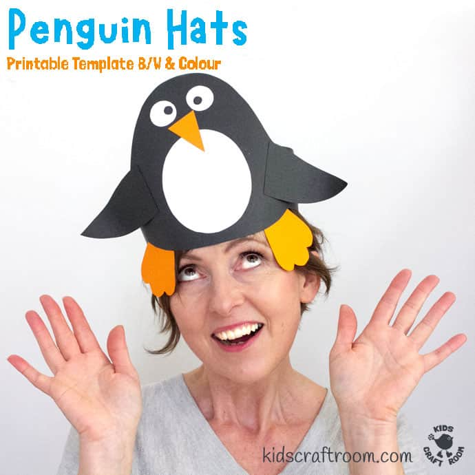 Fun Penguin Hat Craft pin image 3
