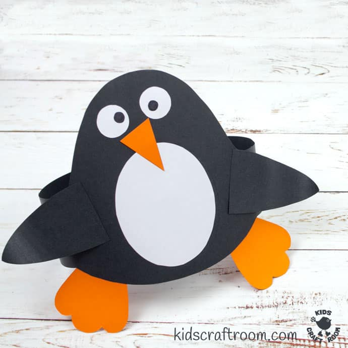 Fun Penguin Hat Craft pin image 2