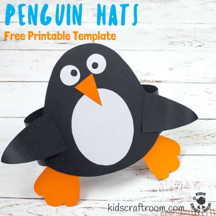 graphic about Penguin Template Printable titled No cost Printable Penguin Hat Template - Young children Craft Space