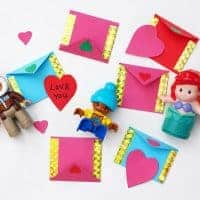 Miniature Fairy Envelope Craft for Kids to Make