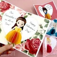 3d Princess Pop Up Cards for Valentines & Birthdays - Red Ted Art's Blog
