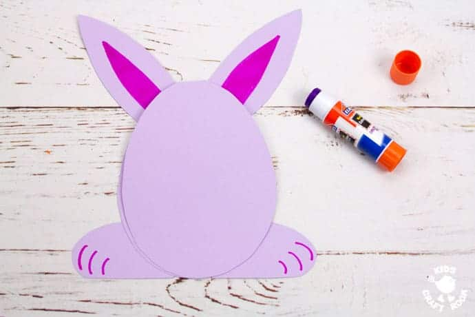 Easter Bunny Cards step 5