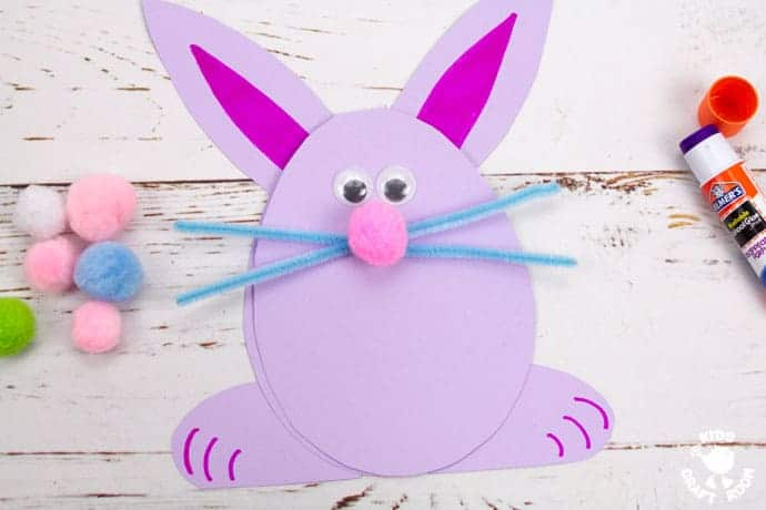 Easter Bunny Cards step 7