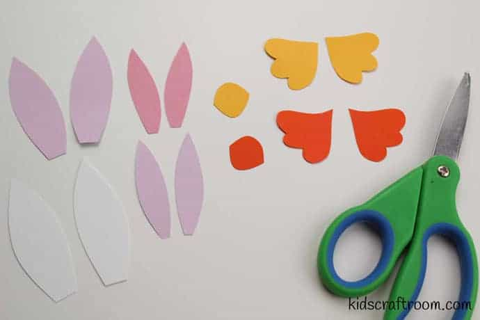 Bunny and chick egg decorating ideas- step 2