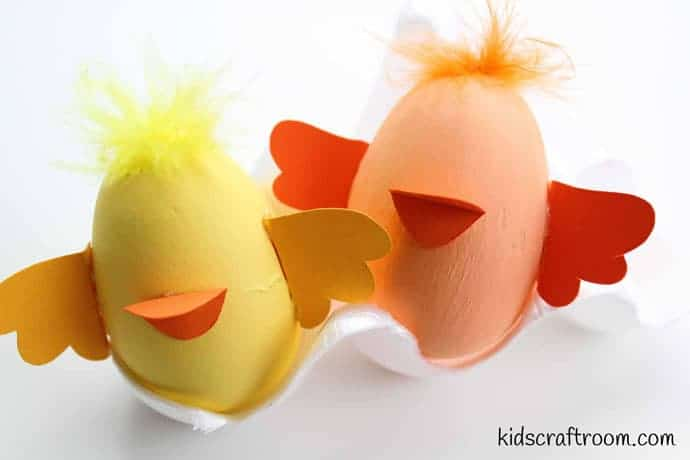 Bunny and chick egg decorating ideas- step 3