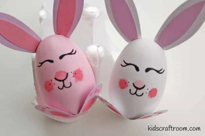 Bunny and chick egg decorating ideas- step 7