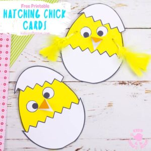 Hatching Chick Easter Card Craft