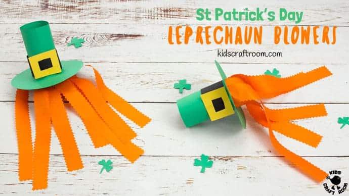 Leprechaun Hat Blowers A Fun St Patrick S Day Craft Kids Craft Room