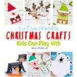 Free Printable Christmas Crafts For Kids To Play With