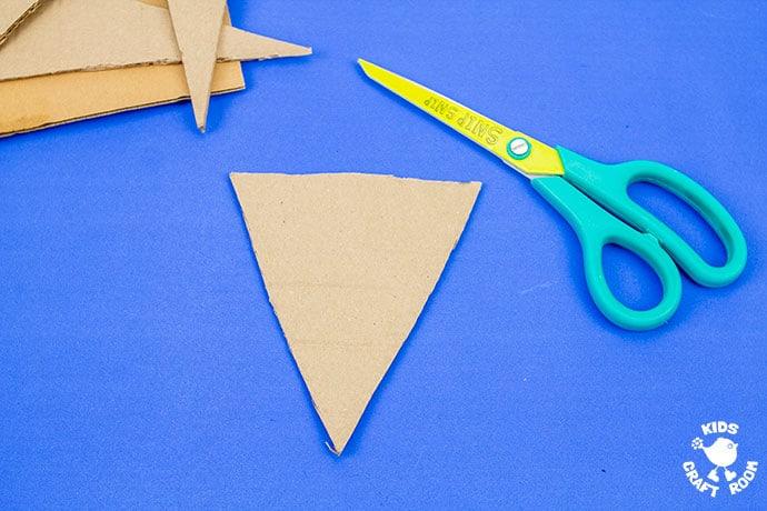 Yarn Wrapped Fox Craft step 1