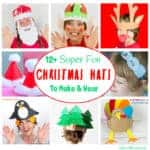 Fun Christmas Hats For Kids To Make And Wear