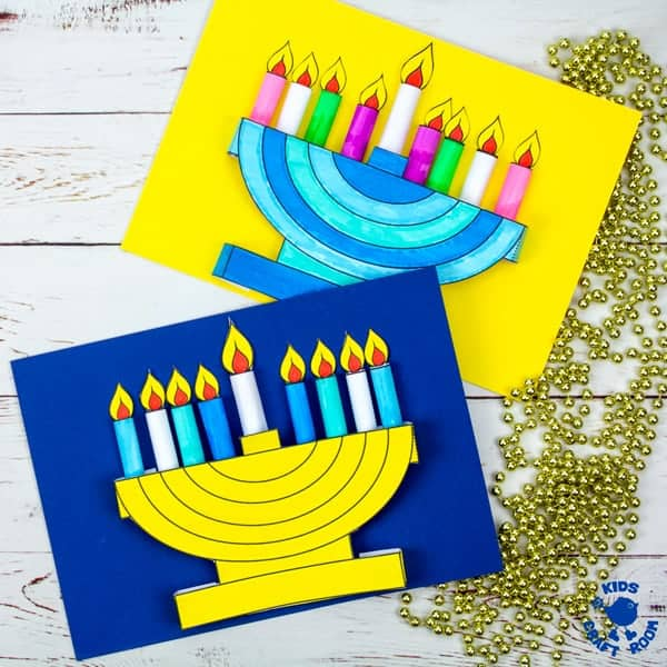 It is a graphic of Free Printable Hanukkah Cards with regard to paint your own dreidel