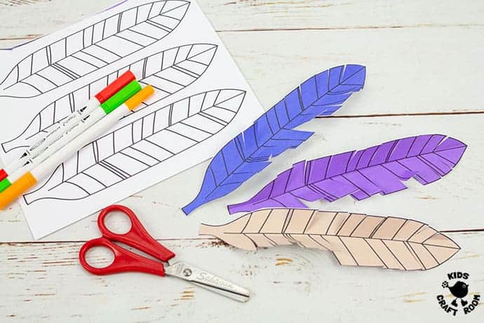 It's just a graphic of Printable Feather Cut Outs regarding single turkey feather