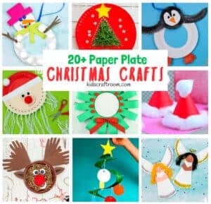 Gorgeous Paper Plate Christmas Crafts For Kids