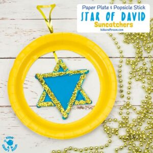 Pretty Star Of David Suncatcher Craft